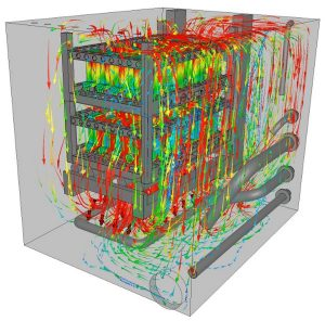 CFD simulation of a quenching tank