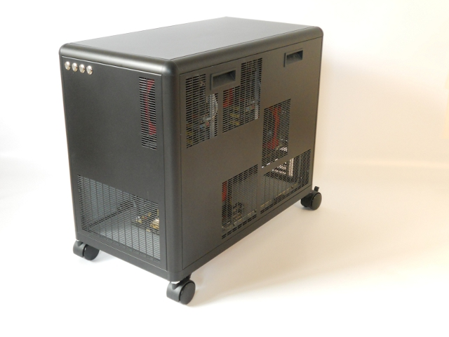 personal supercomputer front-side view